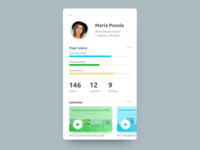 Social Profile for Daily Ui 006