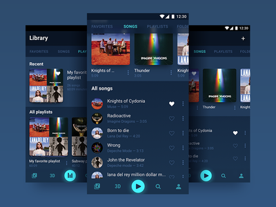 Music player Daily Ui 009 009 daily ui player music player