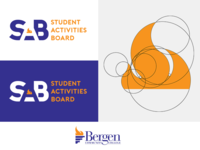 SAB Logo for Bergen Community College