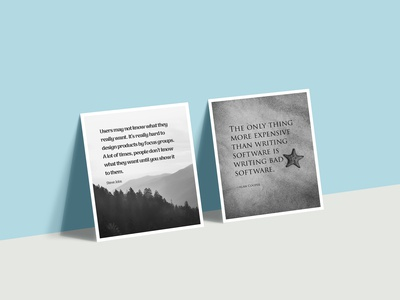 UX posters