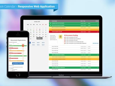 Mortgage App, Task Based Timeline