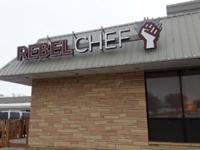 Rebel Chef Sign