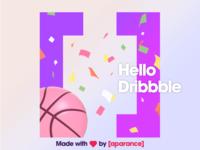 001 Dribbble Debut