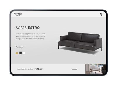 NATUZZI WEBDESIGN interactivedesign webdeisgn