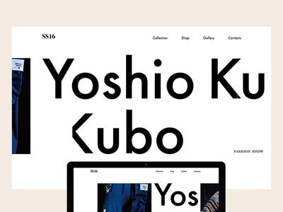 YOSHIO KUBO SS16
