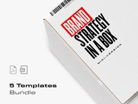 Brand Strategy Bundle minimal clean ui ux color strategy logo design logotype logos templates template brand identity branding and identity logo branding brand strategy