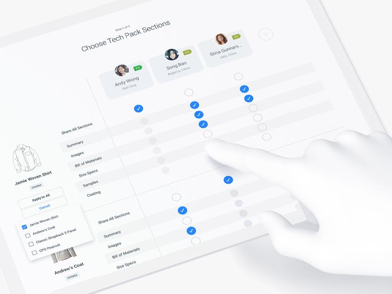 Sharing permissions (SaaS web app) user research web app ui web app ux saas analytics minimal dashboard prototype admin web app software ux social media chat social sharing
