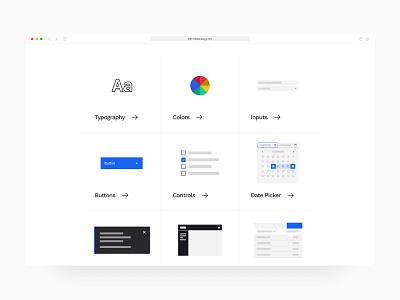 Design System for Enterprise app minimal web application web app design ui design ux design enterprise design enterprise ux saas interface dashboard software web app style guide design system