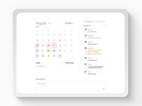 Calendar + Tasks