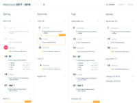 Calendar - Yearly plan