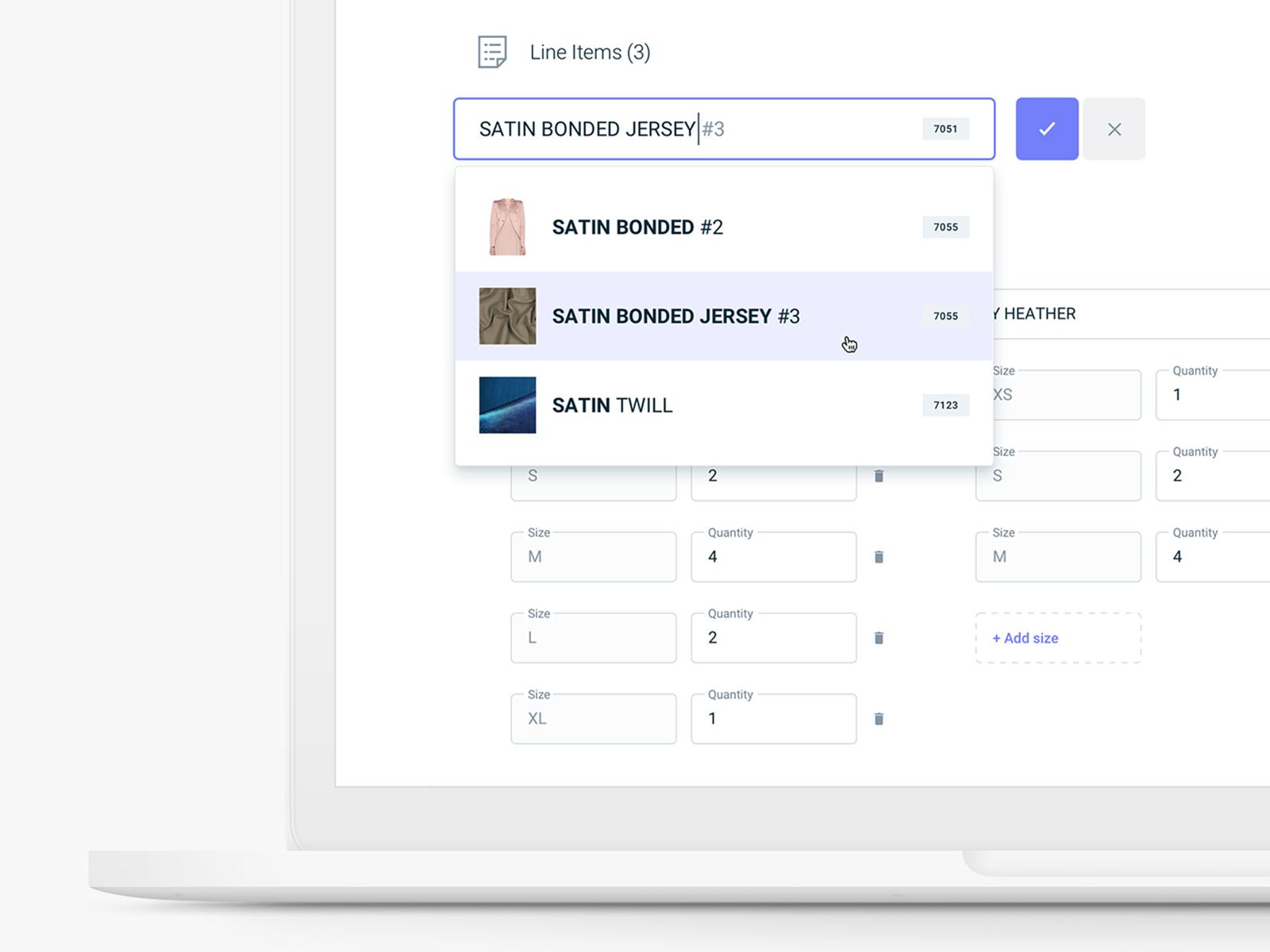 Edit mode (SaaS web app) by Alex Gilev on Dribbble