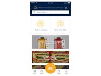 Redesign Walmart mobile app