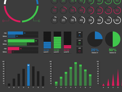 Still More Illustrator UI Kit