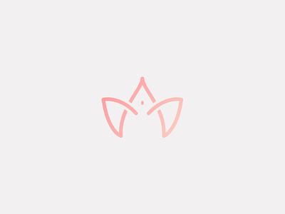 Branding : Dripernalete vagina mark logotype logo flower gynecologist drawn doctor custom branding brand