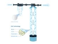 Water filter illustration