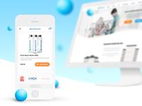 Homewater. Screens. Mobile