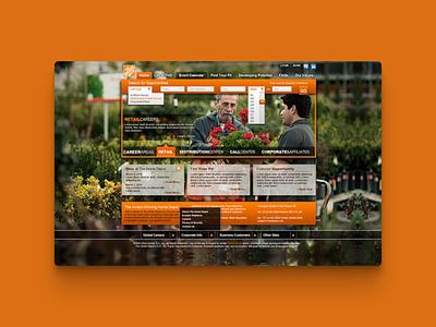 Home Depot Career Page Redesign chad bishop interface interface design design ui