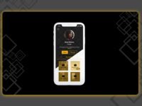 Design Challenge - Profile Screen - Music app concept
