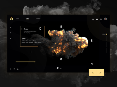 Dark web design web 应用 颜色 ui 样式 设计