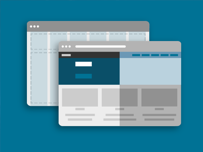Prototyping and Themes illustration zurb foundation browser themes prototype flat