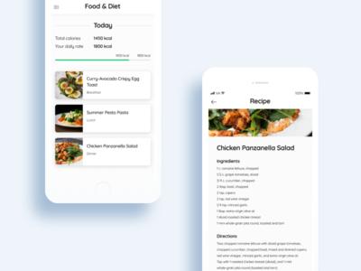 Food & diet app