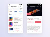 E-commerce. Online retail service