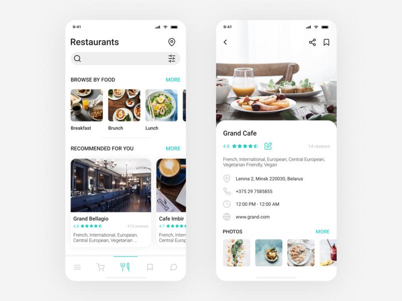 Food App - Restaurant App