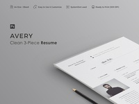 AVERY - Resume Template