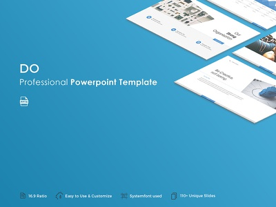 Do Powerpoint Template template slide professional presentation pptx powerpoint portfolio popular modern creative corporate business