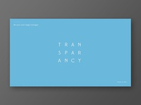 Transparancy Powerpoint Template