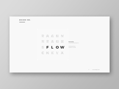 Flow Powerpoint Template start up presentation pptx powerpoint template powerpoint portfolio pitch deck minimal marketing creative corporate business