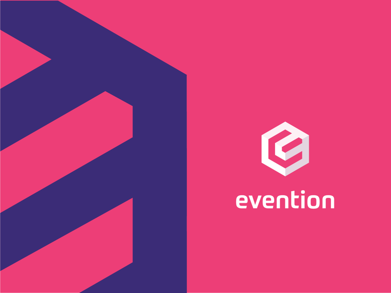 Evention logo deisgn ui vector logo branding