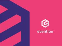 Evention logo deisgn ui vector logo branding