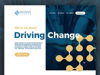 Incisive Health Website Design