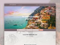 Avora Travel Website Design