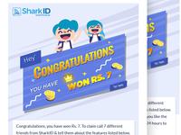 Congratulation mailer design