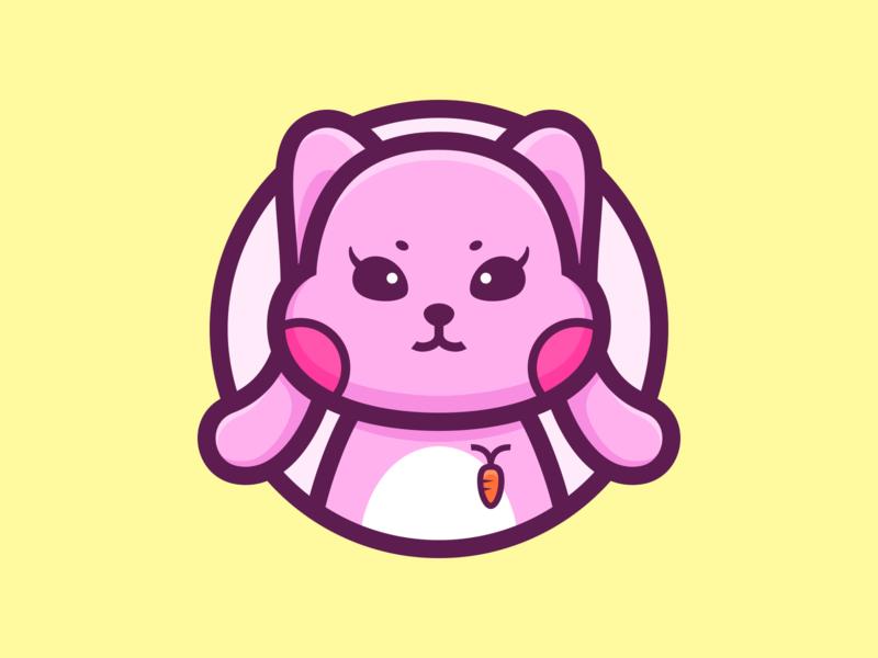 Rabbit_🐇 ears lovely color cute animal rabbit