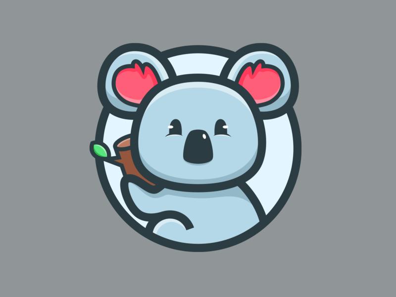 Koala_🐨 tree ears cute animal koala