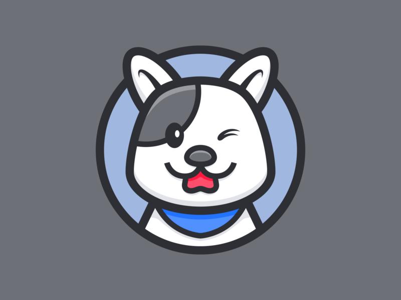 Dog_🐕 illustraion color cool animal doggy dog