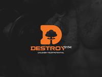 DestroyGym logo