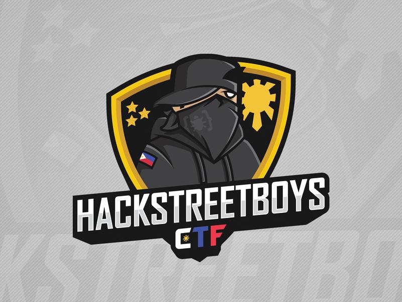 Hackstreetboys CTF logo hack hacker logo hacker hacking illustration hackstreetboys ctf logo ctf logo mascot logo mascot design mascot