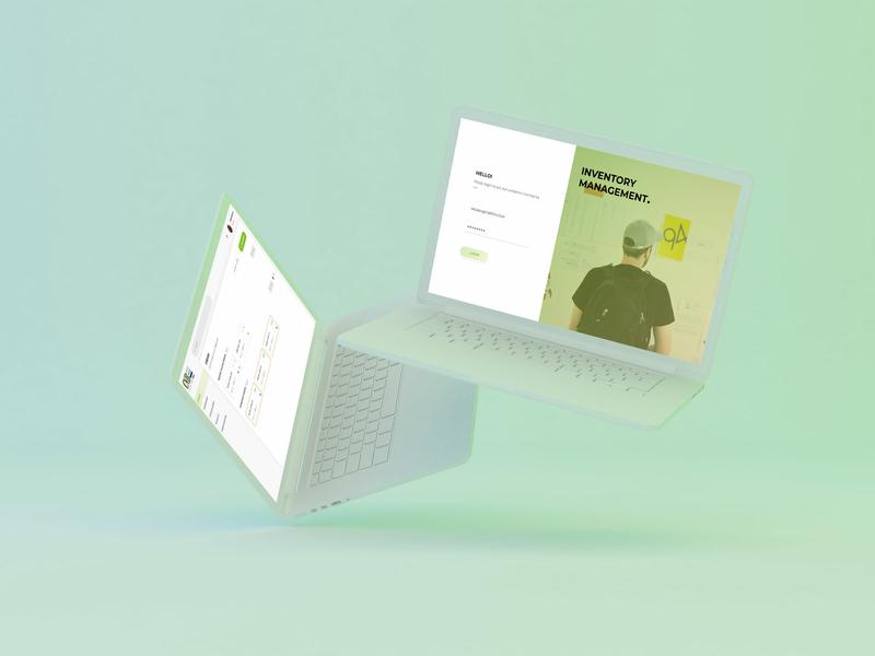 INVENTORY MANAGEMENT minimal web icon typography logo web app vector ux ui tracking app minimal app design dashboard branding app product design enterprise application