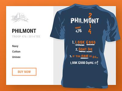 Philmont Trek 2014 tough-mudder retail clothing scouting scouts philmont freebie template t-shirt tee