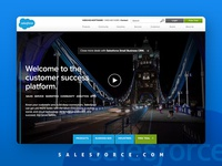 Salesforce Home Page