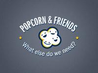 Popcorn & Friends Logo