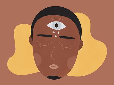 thousand eyes (an ode to trauma) brazil graphic desgin design illustration