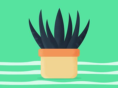 Growing nature plant minimal design grain vector illustration graphic desgin brazil
