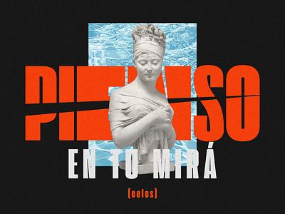 Pienso En Tu Mirá espanol spanish vaporware music grain graphic desgin brazil