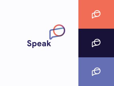 Speak - Logo Concept