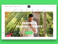Vegan website redesign